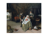 The Lovesick Maiden, C1660 Giclee Print by Jan Steen