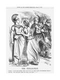 The Fenian-Pest, 1866 Giclee Print by John Tenniel