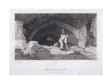 Fleet River, London, 1851 Giclee Print by John Wykeham Archer