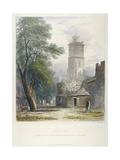 Church of St Giles Without Cripplegate, City of London, 1851 Giclee Print by John Wykeham Archer