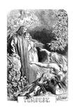Scene from Shakespeare's the Tempest, 1856-1858 Giclee Print by John Gilbert