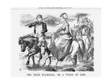 The Irish Balmoral, or a Vision of 1869, 1868 Giclee Print by John Tenniel