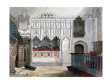 Monument in the Church of St Bartholomew-The-Great, Smithfield, City of London, 1851 Giclee Print by John Wykeham Archer