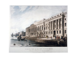 Custom House, City of London, 1817 Giclee Print by Joseph Constantine Stadler