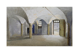 Interior View of Queen's Bench Prison, Borough High Street, Southwark, London, 1879 Giclee Print by John Crowther