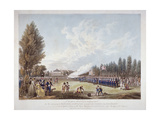The Hans-Town Association Exercising at their Ground in Knightsbridge, London, 1799 Giclee Print by Joseph Constantine Stadler