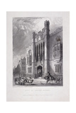 City of London School, London, 1837 Giclee Print by John Woods