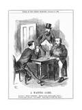A Waiting Game, 1886 Giclee Print by John Tenniel