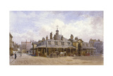View of Oxford Market, St Marylebone, Westminster, London, C1880 Giclee Print by John Crowther