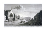 New Palace Yard, Palace of Westminster, London, C1750 Wydruk giclee autor John Boydell