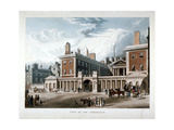 The Admiralty, Whitehall, Westminster, London, 1818 Giclee Print by Joseph Constantine Stadler