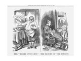 The Merry Swiss Boy the Return of the Tourist, 1865 Giclee Print by John Tenniel