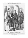 The Battle of the Rubric, 1866 Giclee Print by John Tenniel