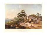 Lime Kilns. a View at Clifton Near Bristol, Gloucestershire, 1798 Giclee Print by John Hassell