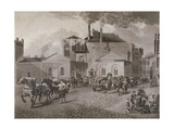 Meux's Brewery, Tottenham Court Road, London, C1830 Giclee Print by Joseph Constantine Stadler