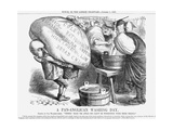 A Pan-Anglican Washing Day, 1867 Giclee Print by John Tenniel
