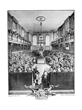 The House of Commons, 1742 Giclee Print by John Pine