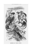 Battle of the Spurs, 1868 Giclee Print by John Tenniel
