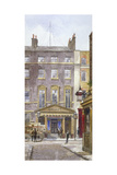 View of the New Royalty Theatre, Dean Street, Westminster, London, 1882 Giclee Print by John Crowther