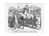 The Derby 1863 - Portrait of the Winner, 1863 Giclee Print by John Tenniel