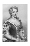 Caroline of Brandenburg-Ansbach (1683-173), Queen Consort of King George Ii, 1851 Giclee Print by John Brown