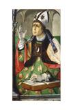 St Augustine of Hippo, 1460 Giclee Print by Joos van Gent