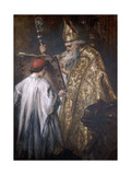 A Bishop, 1889 Giclee Print by John Gilbert
