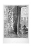 Cripplegate Postern, in the Churchyard of St Giles Without Cripplegate, London Wall, London, 1851 Giclee Print by John Wykeham Archer