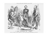 A New Judgement of Paris, 1862 Giclee Print by John Tenniel