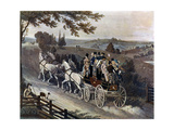 Stage Coach, 1822 Giclee Print by John Watson