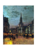 Blackman Street, London, 1885 Giclee Print by John Atkinson Grimshaw