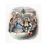A Christmas Carol: Mr Fezziwig's Ball, 1843 Giclee Print by John Leech