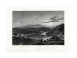 Perth, Australia, 19th Century Giclee Print by John Cousen