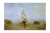 The Sun of Venice Going to Sea, 1843 Giclee Print by Joseph Mallord William Turner