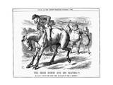 The Irish Horse and Master , 1885 Giclee Print by John Tenniel