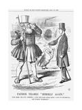 Father Thames Himself Again, 1865 Giclee Print by John Tenniel