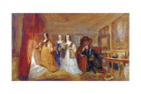 Lucy, Countess of Carlisle, and Dorothy Percy's Visit to their Father Lord Percy..., C1831 Giclee Print by Joseph Mallord William Turner