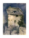 A Dilapidated Cottage, 19th Century Giclee Print by John Ruskin