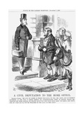 A Civil Deputation to the Home Office, 1867 Giclee Print by John Tenniel