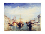 Venice, from the Porch of the Madonna Della Salute, C1835 Stampa giclée di Joseph Mallord William Turner