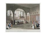 Interior View of the Doctors' Commons, City of London, 1808 Giclee Print by Joseph Constantine Stadler