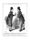 Extraordinary Mildness of the Political Season, 1869 Giclee Print by John Tenniel