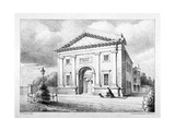 Trinity Chapel, St Thomas Square, Hackney, London, C1850 Giclee Print by John Francis
