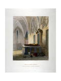 Tomb of Lancelot Andrews in the Lady Chapel, St Saviour's Church, Southwark, London, 1851 Giclee Print by John Wykeham Archer