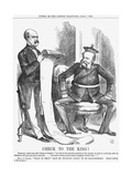 Check to the King!, 1866 Giclee Print by John Tenniel