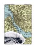 Map of Liverpool, Merseyside, 1903 Giclee Print by JOHN WALKER