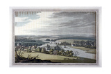 View of Streatley and Goring in Berkshire and Oxfordshire, 1793 Giclee Print by Joseph Constantine Stadler