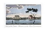 View of the Estate Alkmaar, on the River Commewine, 1813 Giclee Print by John Gabriel Stedman