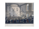 East India House, London, 1808 Giclee Print by Joseph Constantine Stadler