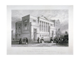 Finsbury Chapel, Blomfield Street, City of London, 1843 Giclee Print by John Woods